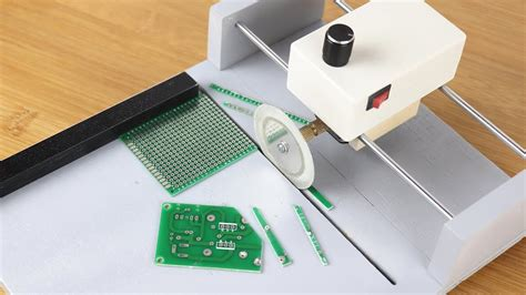 How Make Pcb Circuit Board Cutting Machine Youtube