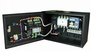 Mt8000 Generator Ats Control Panel Box