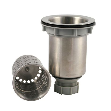 kitchen sink drain strainer stops drains drain plugs plumbing the home depot 5753