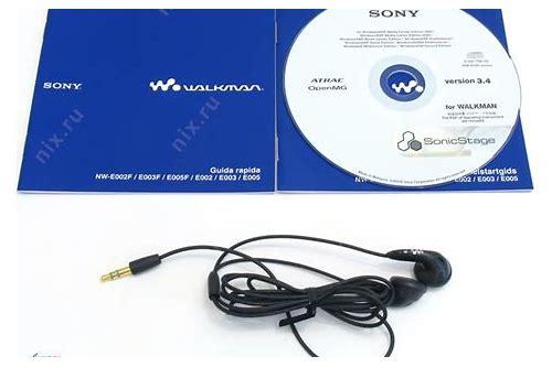 walkman nw e003f baixar de software mp3