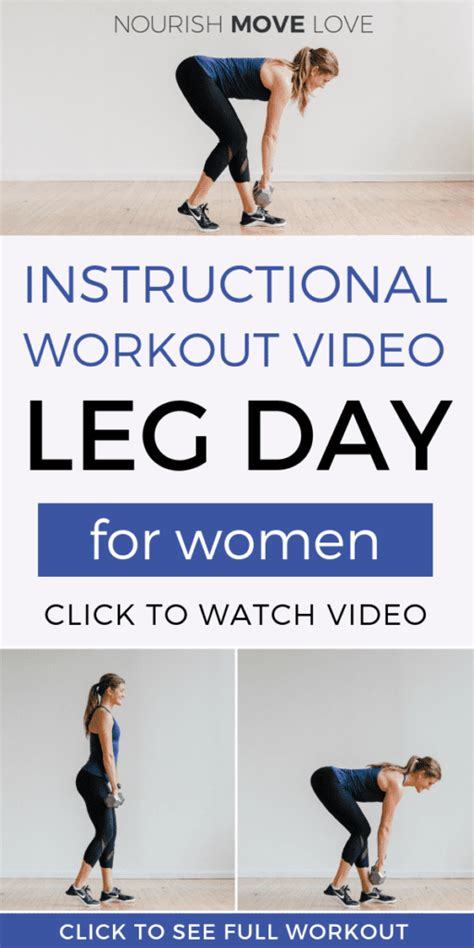 30 Minute At Home Workout by 30 Minute Leg Workout At Home Nourish Move