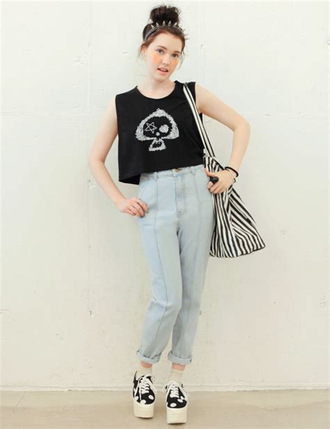 [Stylenanda] KKXX Crop Top | KSTYLICK - Latest Korean Fashion | K-Pop Styles | Fashion Blog