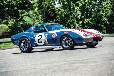Race Cars by 1968 Chevrolet Corvette L88 Sunray Dx Race Car
