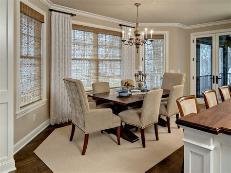 basement window curtains living room traditional