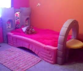 step 2 princess palace castle bed toddler to twin with