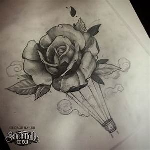 Realistic Rose Sketch From Baker! - Sake Tattoo Crew