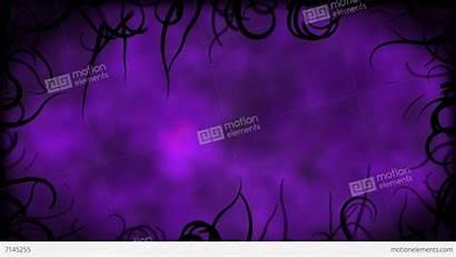 Purple Border Background Animation Vines Backgrounds Loop