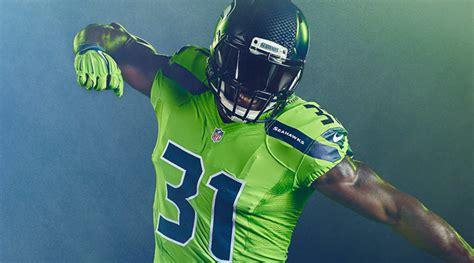 nike reveals nfl color rush uniforms sicom