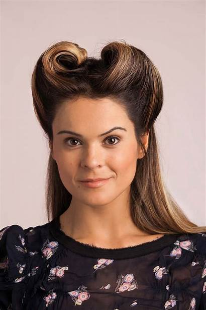 Hairstyles Hair Styles Bobby Victory Rolls Rockabilly