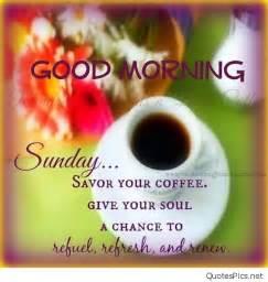 Good Morning Sunday Quotes