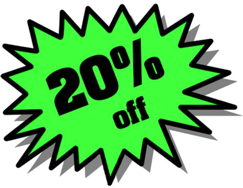 Annual July Sale! 20% Off!