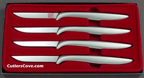 Gerber Kitchen Knives by Gerber Miming Chrome In A Set Of Four That Is Mint In The Box