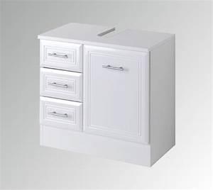 Möbel Günstig De : bad waschbeckenunterschrank neapel 1 t rig 3 schubladen 60 cm breit hochglanz wei bad ~ Indierocktalk.com Haus und Dekorationen