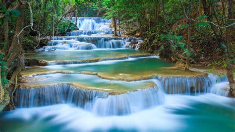 Erawan Waterfall Some New Beautiful Hd Wallpapers All Hd