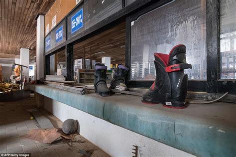 Inside South Korea's abandoned ski resort   Daily Mail Online