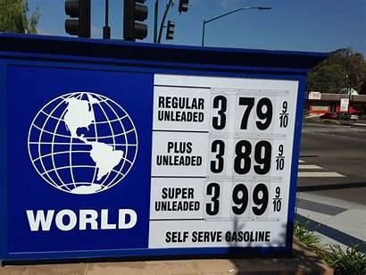 Gas Station Signs Jose San Concord Bay