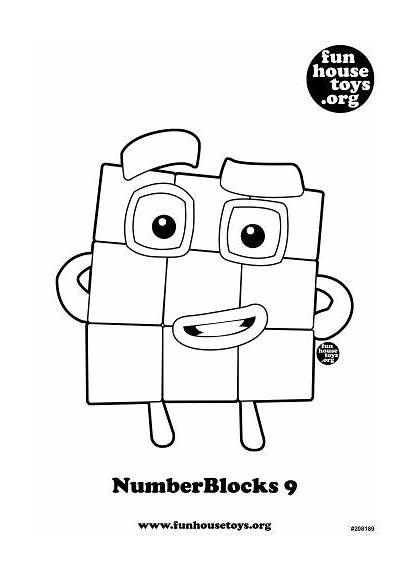 Coloring Pages Printables Fun Numberblocks Colouring Printable