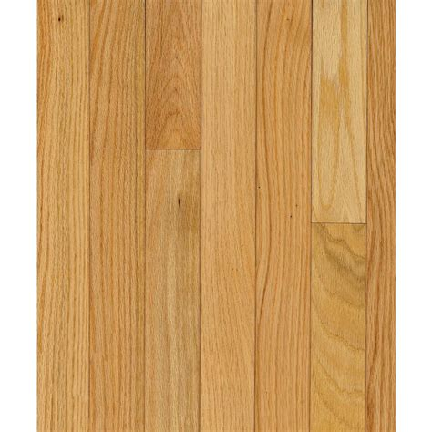 hardwood flooring prefinished shop bruce barrett plank 3 25 in w prefinished oak hardwood flooring natural at lowes com