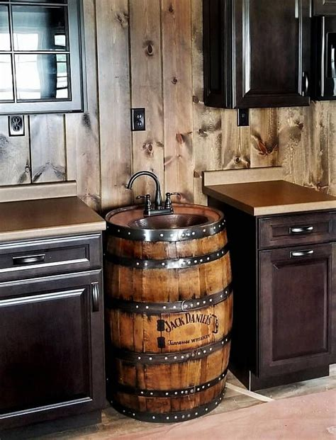 The 25+ Best Whiskey Barrel Sink Ideas On Pinterest  Wine
