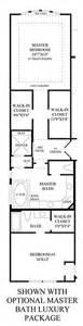 luxury master bathroom floor plans the reserve at katy the venetian home design