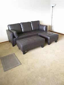 sofa two ottomans converts to a queen bed many seating With sofa converts to queen bed