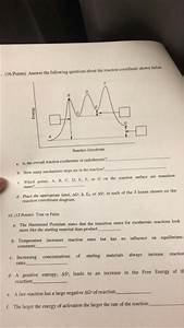 Solved  Answer The Following Questions About The Reaction