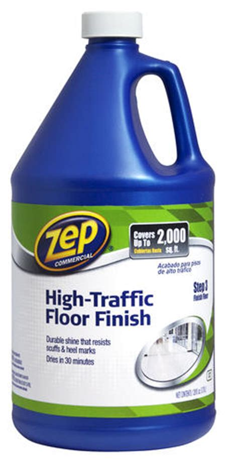 zep floor finish zep commercial high traffic floor gallon at menards 174