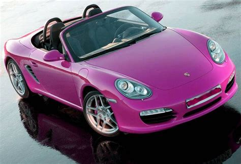 pink convertible cars cute porsche ll drive a pink convertible car