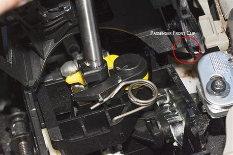xc gear selector wont stay  drive volvo