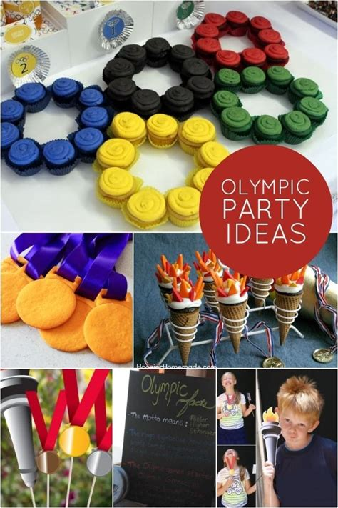 olympic party ideas  love gymnastics party party