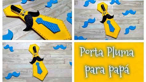 DIY // Porta pluma o lapicero en forma de corbata para