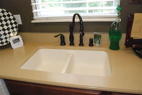 Built In Kitchen Sink by View Of Kitchen Countertops Are Formica Except For