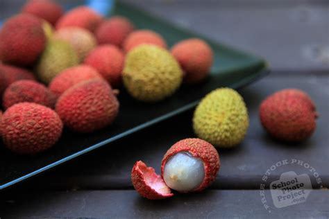 lychee fruit peeled free ripe lychee photo peeled lychee picture royalty
