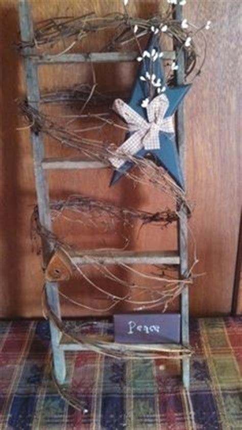 Images About Primitive Ladder Ideas Pinterest