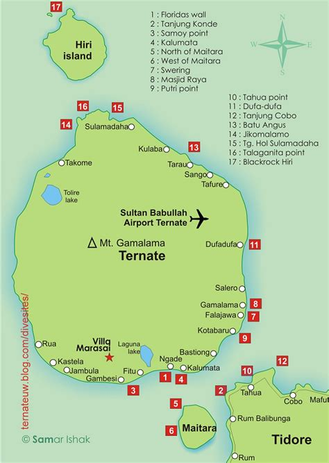 wisata  indonesia  tempat wisata kota ternate