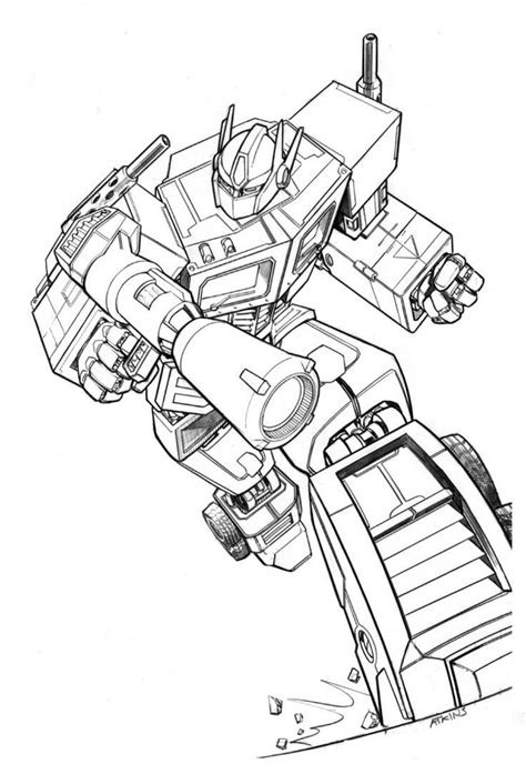 optimus prime transformers  robertatkins  deviantart
