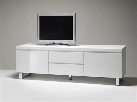 Designer Lowboard Tv-schrank Sintia 03 Hochglanz Weiss