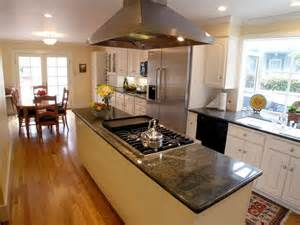 kitchen island with cooktop 301 moved permanently