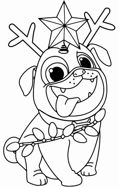 Puppy Coloring Pals Dog Printable Pages Dogs