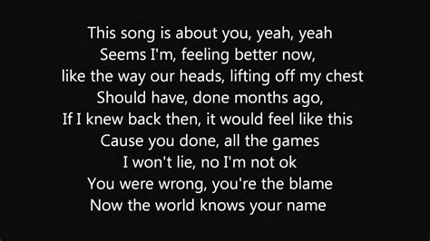 Olly Murs  This Song Is About You (lyrics) Youtube