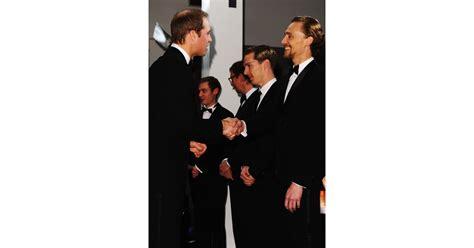 Prince William met Tom Hiddleston and Benedict Cumberbatch ...