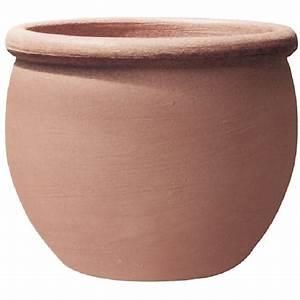 Pot En Terre Cuite Pas Cher : pot rond terre cuite 67l perugia pas cher prix auchan ~ Dailycaller-alerts.com Idées de Décoration