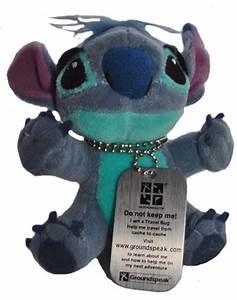 (TB14MK6) Travel Bug Dog Tag - Cute and Fluffy Stitch ...