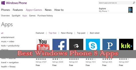 best windows 8 smartphone 10 best top free windows phone 8 apps