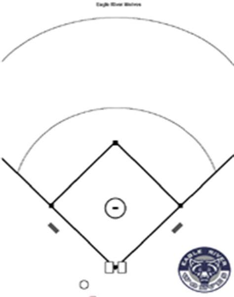 baseball field template baseball diagrams and templates free printable drawing
