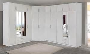 armoire chambre 4 portes armoire 4 portes 2 miroirs 2 tiroirs spectral blanc