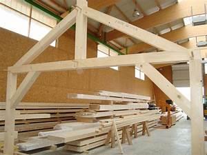 Ferme De Charpente : plan charpente traditionnelle 2 pans plan de charpente ~ Melissatoandfro.com Idées de Décoration