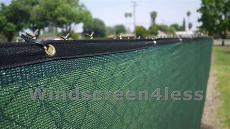 privacy cover for fence green 6 x50 fence privacy screen cover mesh windscreen fabric slat shade cloth 46 55 picclick