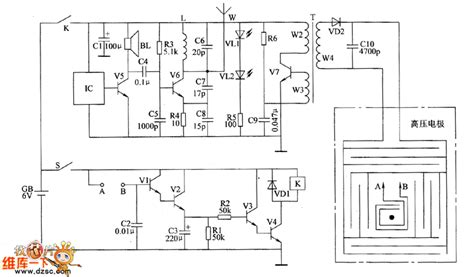Electronic Rodent Repeller Circuit Diagram Electrical