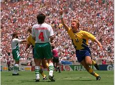 On this day Sweden hammer Bulgaria to finish third at